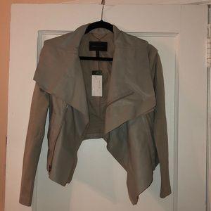 BCBG leather jacket